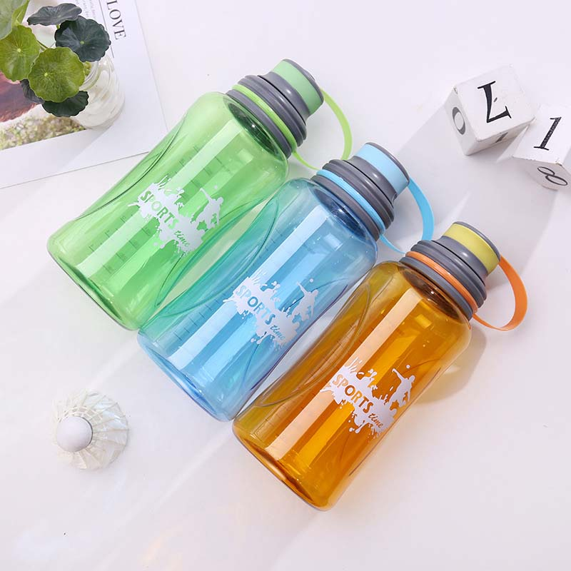Free Shipping Plastic Large Capacity BPA Free Training Drinking Water Bottle 1L Water Bottle For Outdoor Kettle
