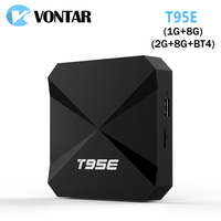 VONTAR T95E RK3229 Rockchip Quad-Core Andorid 6.0 TV BOX 2 GB/8 GB WiFi Google Play Store preinstalowany Odtwarzacz Multimedialny IPTV Box