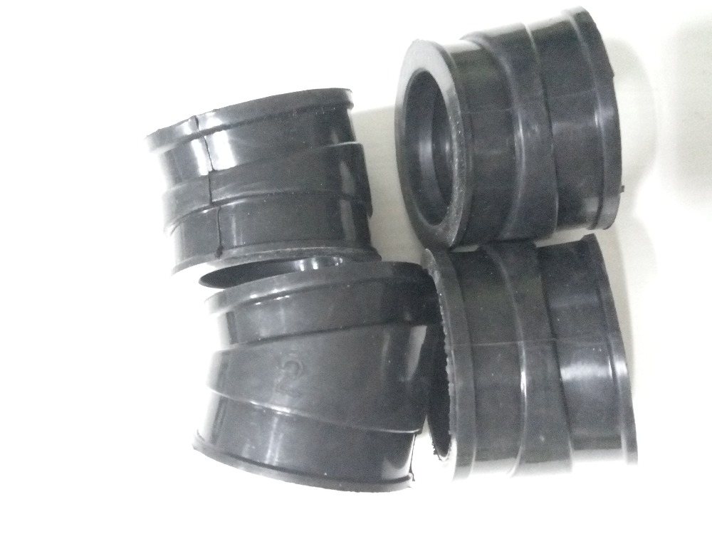 US $21 49 10% OFF|4 Motorcycle 4pcs Carburetors Interface Rubber Carburetor  Pad Intake outlet Manifold For Honda CB750 C F K L SC Nighthawk 750-in