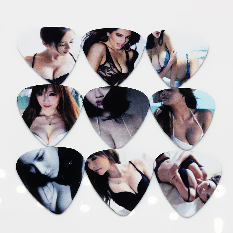 Soach 50pcs Sex Beautiful Sexy Girl Picks Guitar Picks Size 1 0mm In Guitar Parts Accessories From Sports Entertainment On Aliexpress Com Alibaba