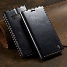Leather Phone Case for Samsung Galaxy S10 Magnetic Flip Wallet Case Cover for Galaxy S20 S10 Plus Note 9 Note 10 S9 Coque Capa