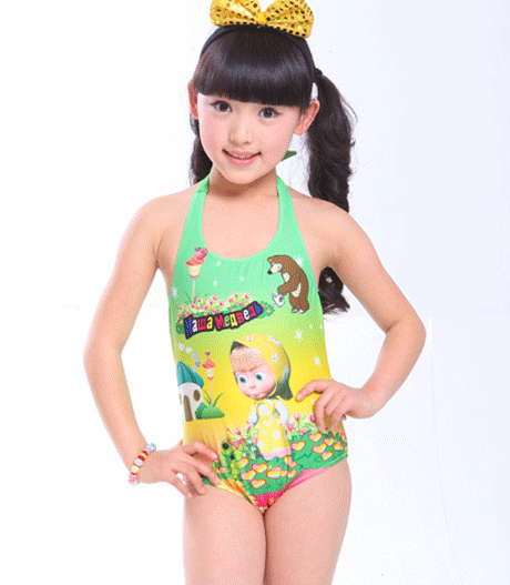9acbc6d5e51f8 Free shipping!lovely hot spring bathing suit one piece,swimsuit for girls,bikini  kids girl