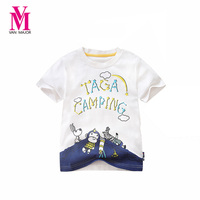 Hot Sale Summer 100 Cotton Children Short Sleeve T Shirts Kids Clothing Tees Baby Boy Girl