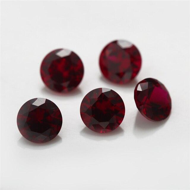 Размер 10 ~ 3 мм круглые бриллиантовые вырезы для ювелирных