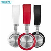 Повязка на голову Meizu HD50 HIFI стерео Бас Музыкальная гарнитура корпус из алюминиевого сплава низкие искажения наушники с микрофоном для iPhone
