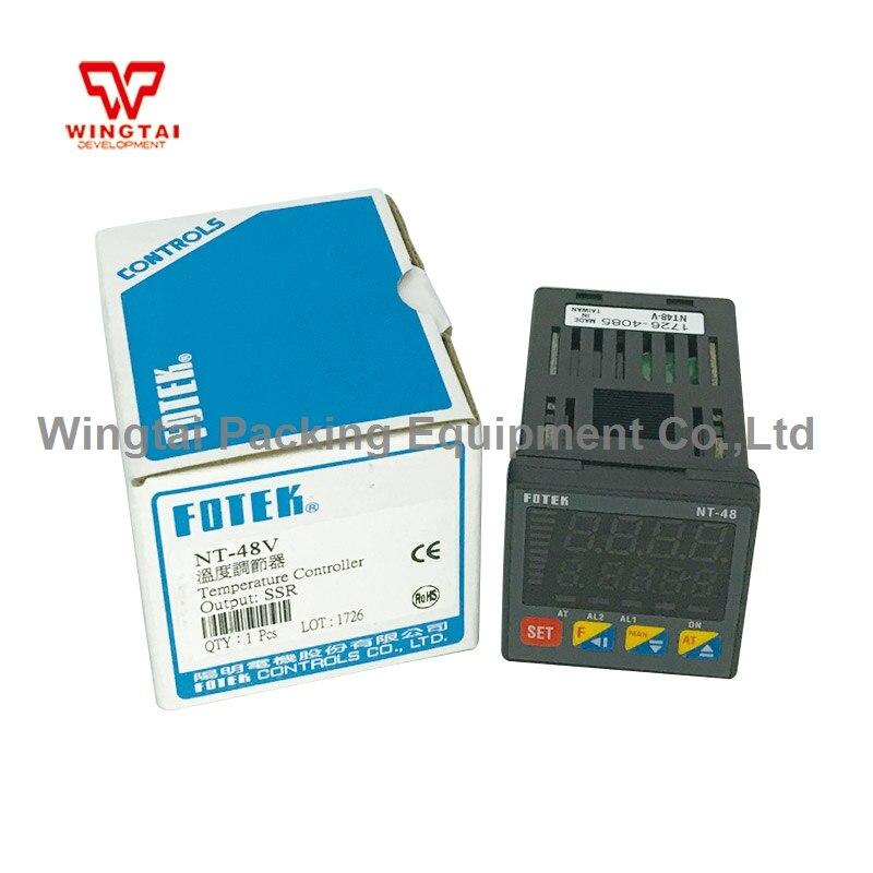 Taiwan Fotek Intelligent Fuzzy+PID Temperature Sensor NT-48VTaiwan Fotek Intelligent Fuzzy+PID Temperature Sensor NT-48V