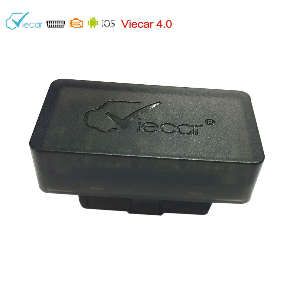 Dropshipping Viecar VC102 ELM327 Bluetooth 4,0 OBD2 Diagnosescanner Unterstützung J1850 Protokoll OBD2 Scan Tool auf IOS/Android