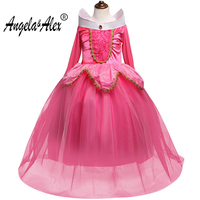 Angela Alex Girls Princess Dress Kids Cosplay Dress Up Christmas Halloween Costumes For Kids Tulle Party