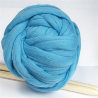1000g/ball wholsale Super merino wool yarn for Arm Knitting Blanket scarf