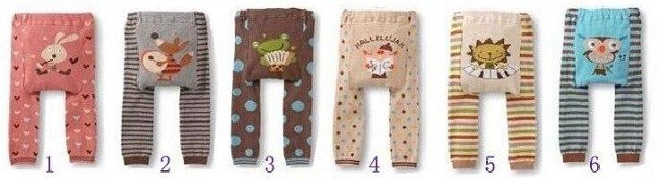 Акция, 18 шт. в партии, популярные детские штаны на подгузник, 36 цветов Штаны для мальчиков и девочек детские леггинсы - Цвет: Group A 1 to 6