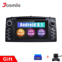 2 Din Android 8.1GPS Radio Car Multimedia For Toyota Corolla E120 BYD F3 2001 2002 2003 2004 2005 2006Head Unit StereoNavigation