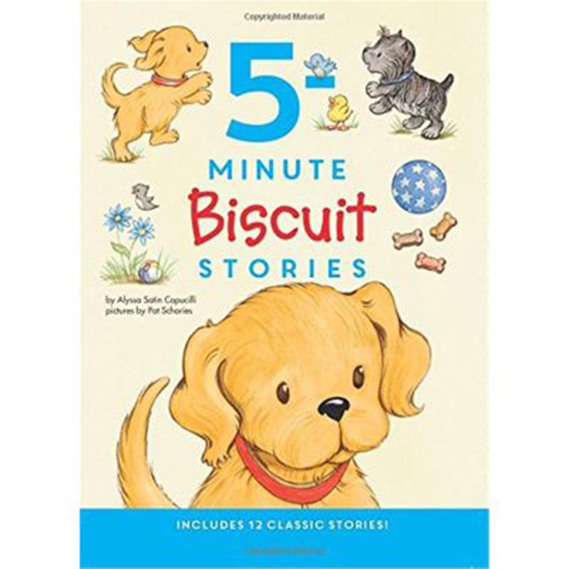 Children books Biscuit dog hardcover 12 story collection educational chinese english kids books gift chinese idiom story color picture of children s short story books to learn the phonetic version of 5 7 years old kids book