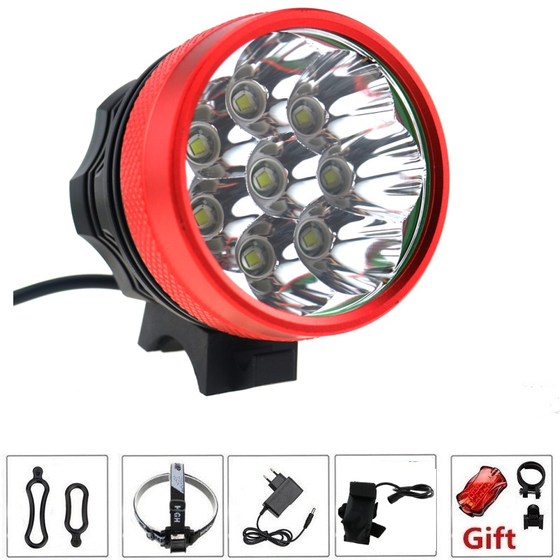 12000 Lumens 8xcree Xm L T6 Led Headlight 8t6 Headlamp