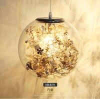 Kreative Europa glas pendelleuchte Minimalistischen Pendelleuchten Art Deco Lampe für Wohnzimmer Esszimmer Pendelleuchte