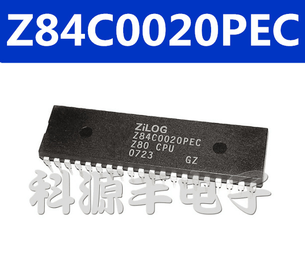 10pcs Z84C0006PEC Integrated Circuit IC DIP-40 Z80-CPU