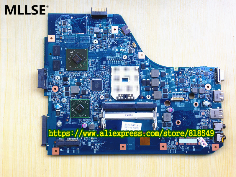 Laptop motherboard Fit For Acer Aspire 5560 5560G JE50-SB 48.4M702.01M system board, fully tested