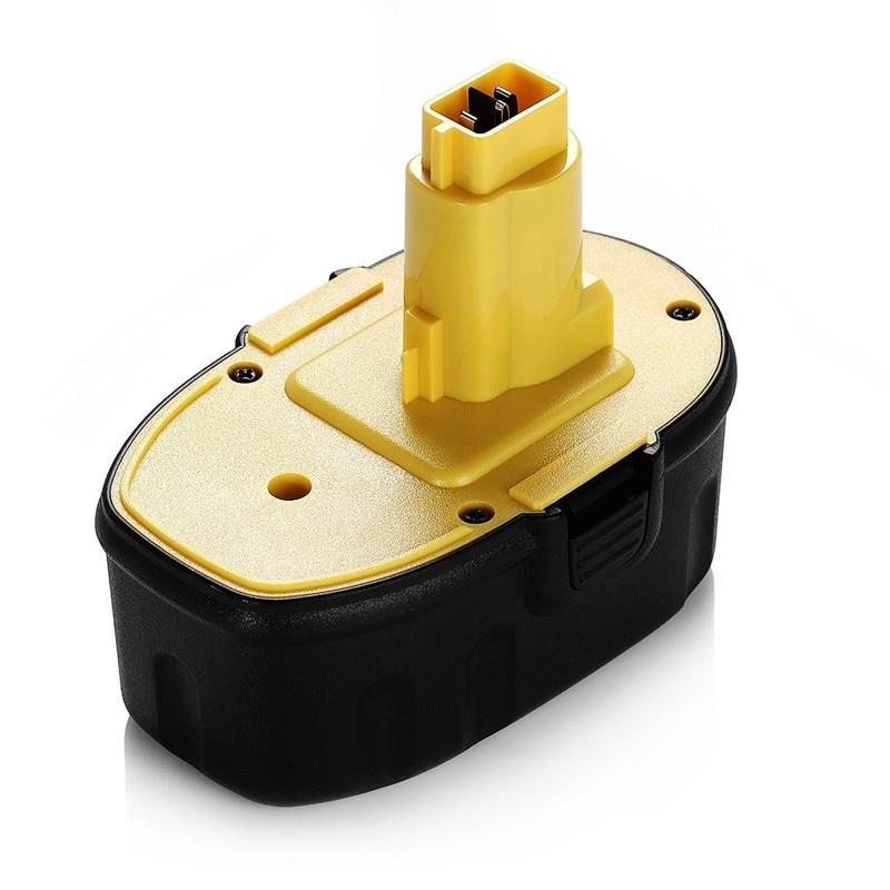 18 V 3500 mAh NiMH Bateria Pod-Estilo Substituição Da Bateria Ferramenta para DEWALT DC9096 DC9099 Alta Capacidade Sem Fio broca Amarelo