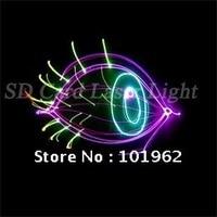 3d animação de luz laser 300 mW RGV disco party dj iluminação show de luzes do palco