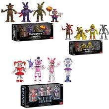 Funko POP Fünf Nacht Zu Freddy FNAF Action figuren Spielzeug Foxy Freddy FNAF schwester lage PVC modell Spielzeug für kinder geschenk