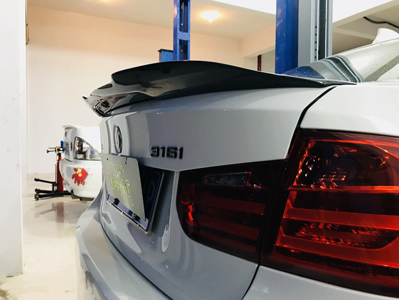 MP Carbon Fiber Rear Boot Spoiler For F30 F80 M3 Saloon 2012-UP