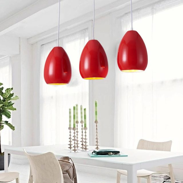 Restaurant Kitchen Lighting aliexpress : buy modern pendant light dining room kitchen