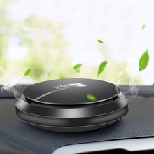 Car Air Freshener Alloy UFO Solid Perfume Balm Diffuser Ornaments Automobiles Interior Fragrance Smell Purifier Accessories