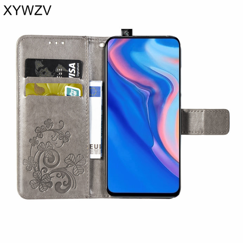 Image 2 - Huawei Y9 Prime 2019 Case Soft Silicone Filp Wallet Shockproof Phone Bag Case Card Holder Fundas For Huawei Y9 Prime 2019 Cover-in Flip Cases from Cellphones & Telecommunications