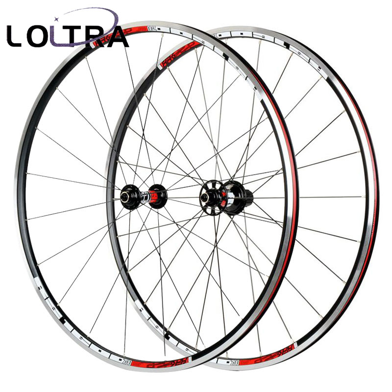 LOLTRA KOOZER RS1600 6 Pawls Aluminium Alloy not Carbon Road Bike Wheel Racing Bicycle Wheelset 700c x23c tyre 2:1 1600g eurobike 21 speed steel frame aluminium alloy rim 700c road complete racing bike page 2