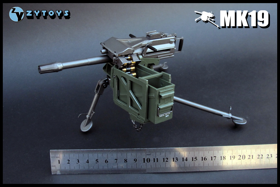 1:6 Scale weapon Mk19 Grenade Launcher Plastic model Figure Accessory for 12 Action figure doll,not include doll and other 1 6 scale super flexible doll collectible figure gangsters kingdom heart a billy 12 action figure doll plastic model toy gift