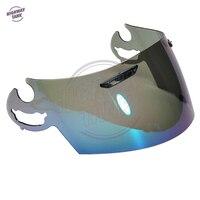 Iridium Motorcycle Full Face Helmet Visor Lens Case for ARAI RR5 RX7 GP Quantum ST RX Q Chaser V Corsair V Axces 2