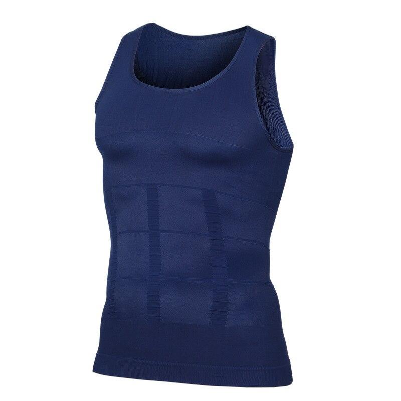 NEW Shapewear Waist Girdle Vest Shirt Handsome Tunic Gentleman Men Bodysuit Slimming Tummy Shaper Belly Underwear plus size tops (10)