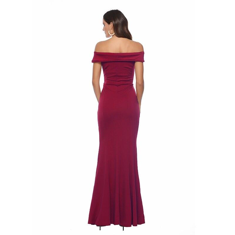 Vestido De Festa New Hot Sale Sexy V neck High Waist Split Banquet Maxi Dress Women 39 s 2019 Summer Elegant Sleeveless Mopping in Dresses from Women 39 s Clothing