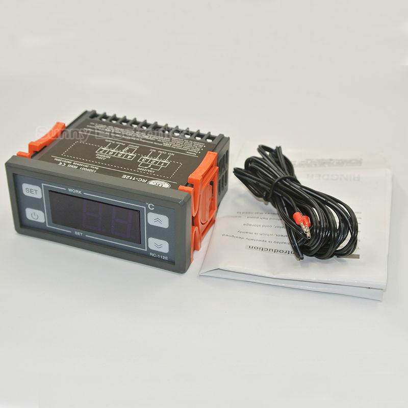 RC-112E 230V10A Interruttore a relè ON / OFF per riscaldamento a - Strumenti di misura - Fotografia 2