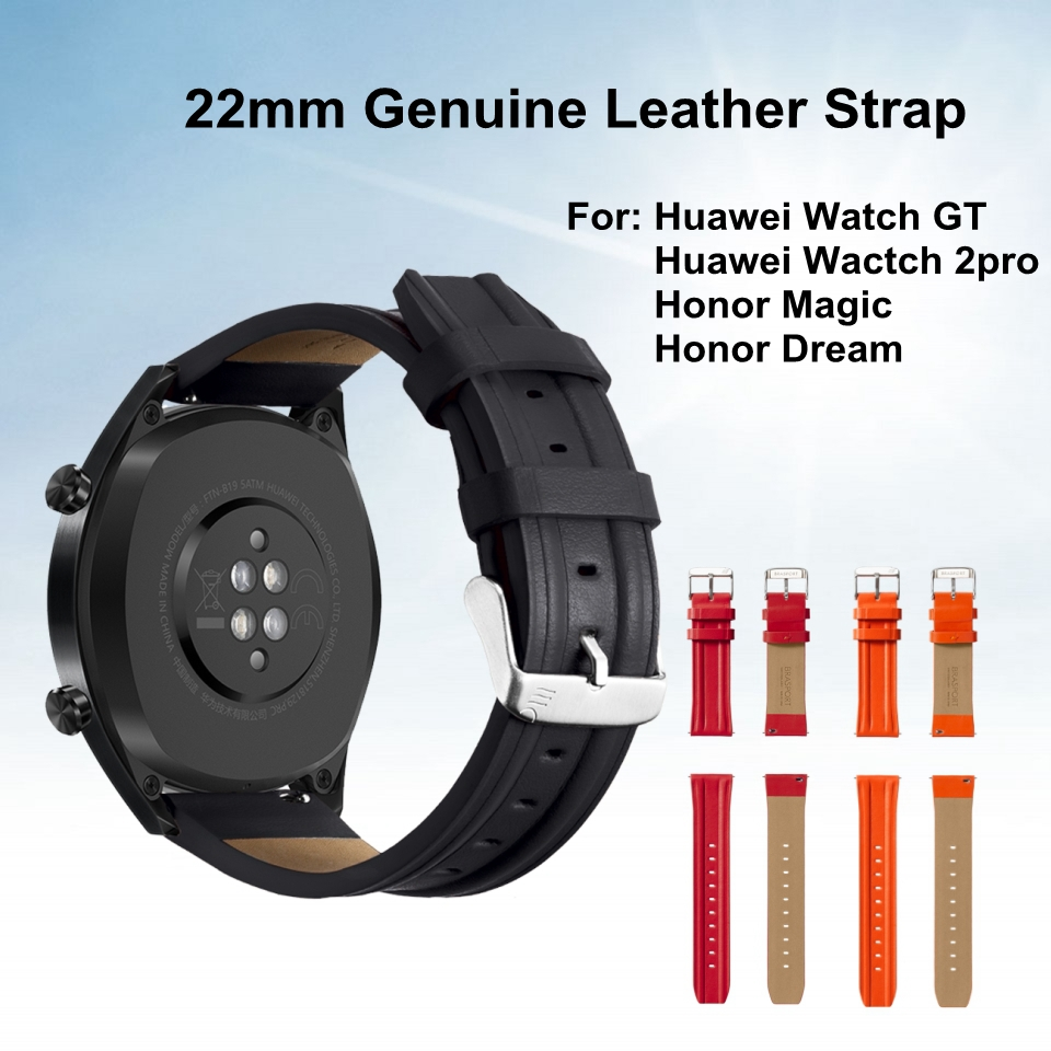 Huawei Strap Watch Honor Magic Wrist-Band-Belt Replacement GT Genuine-Leather for 2pro
