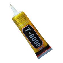 1pcs T8000 complement drilling environmental protection glue phone shell shell beauty stickers 50ml(China)