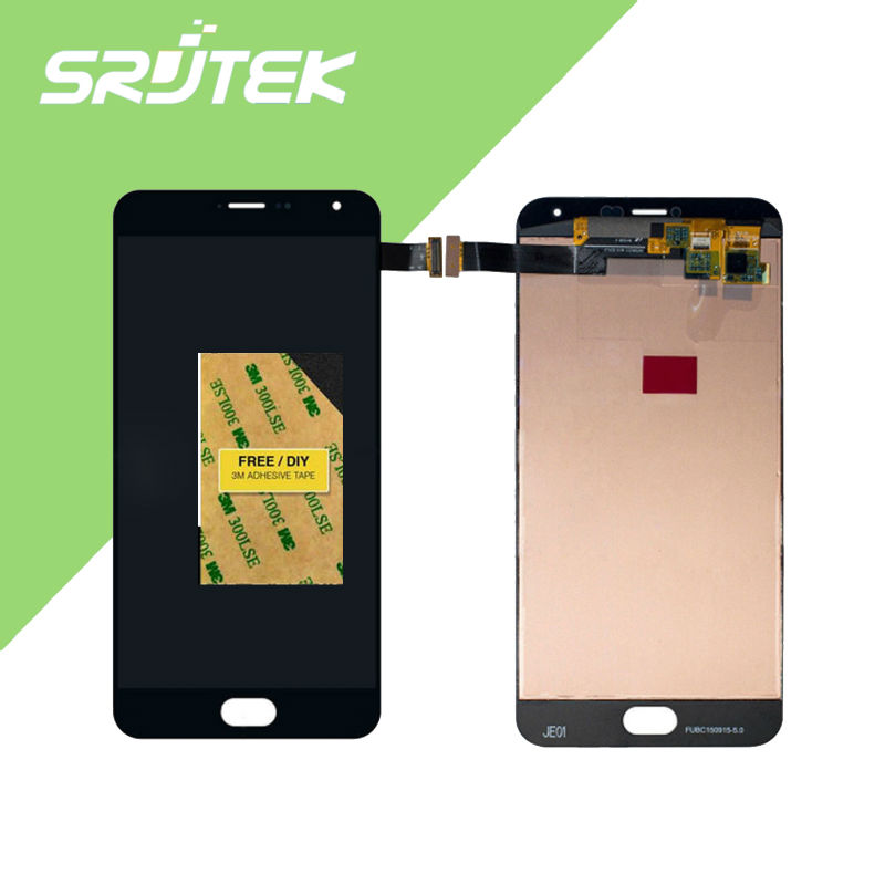 Подробнее о High Quality New Digitizer Touch Screen Assembly + LCD Display For Meizu MX5 Pro For Meizu Pro 5 Cellphone 1920*1080 Black Color for meizu m2 mini lcd touch screen digitizer display 5 0 cellphone black color free shipping digitizer assembly replacement
