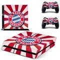 Campeão europeu de futebol equipe de vinil adesivo de pele para sony ps4 console e 2 controladores de jogo decalque capa acessórios