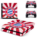 European Champion Football Team Vinyl Skin Sticker for Sony PS4 Console and 2 Controllers Decal Cover Game Accessories