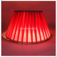 E27 modern Lamp shade for table lamp solid color Pattern Textile Fabrics Decorative pink and purple lamp shade