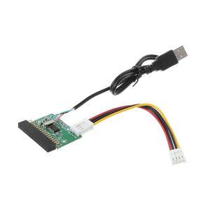"Image 2 - 1.44MB 3.5 ""USB kablosu adaptörü 34Pin disket sürücü konektörü U Disk disket PCB kartı"