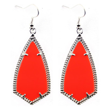 2016 Silver Tone New Brand Jewelry Kite Statement Drop Earrings for Women Fashion Jewelry
