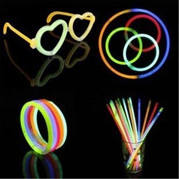 100 Pcs Kids Party Neon Glowstick Light Stick
