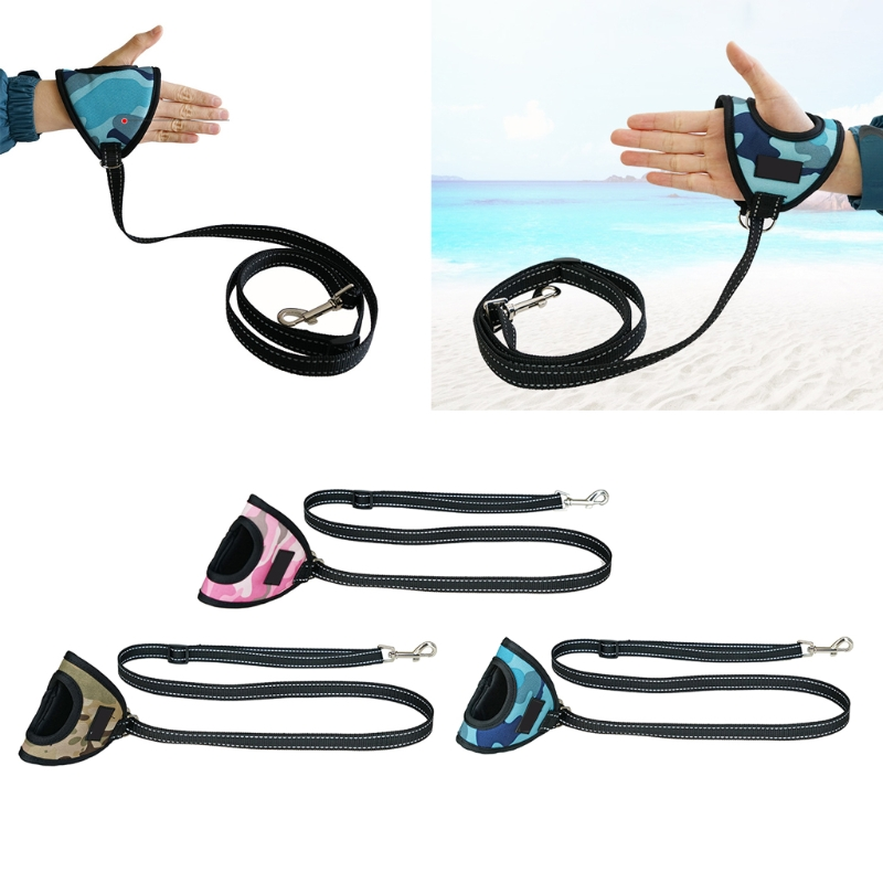 Pet Dog Leashes Glove Type Reflective Strip Dog Leash Outdoor Pet Lead Leashes