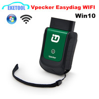 WIFI Connection Vpecker Easydiag New V8.1 Supports WIFI&Win10 Better Than Launch iDIAG Add Oil Reset Function Update Online