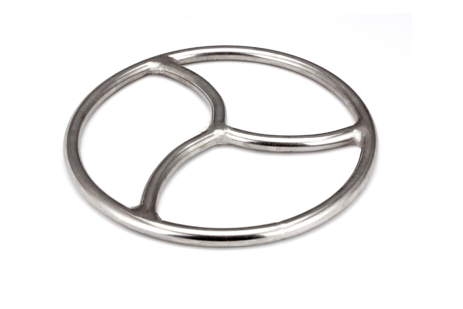 Triskele Ring Stainless Steel Chasitity suspension Shibari