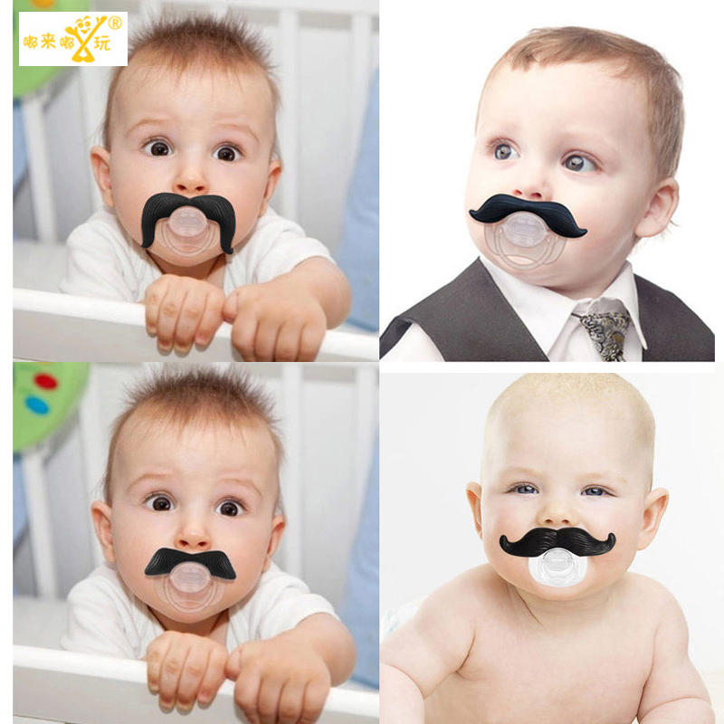 1 pic Silicone funny pacifiers for babies baby nipple bottle pacifiers for children pacifier clips dummy  soothers nipple