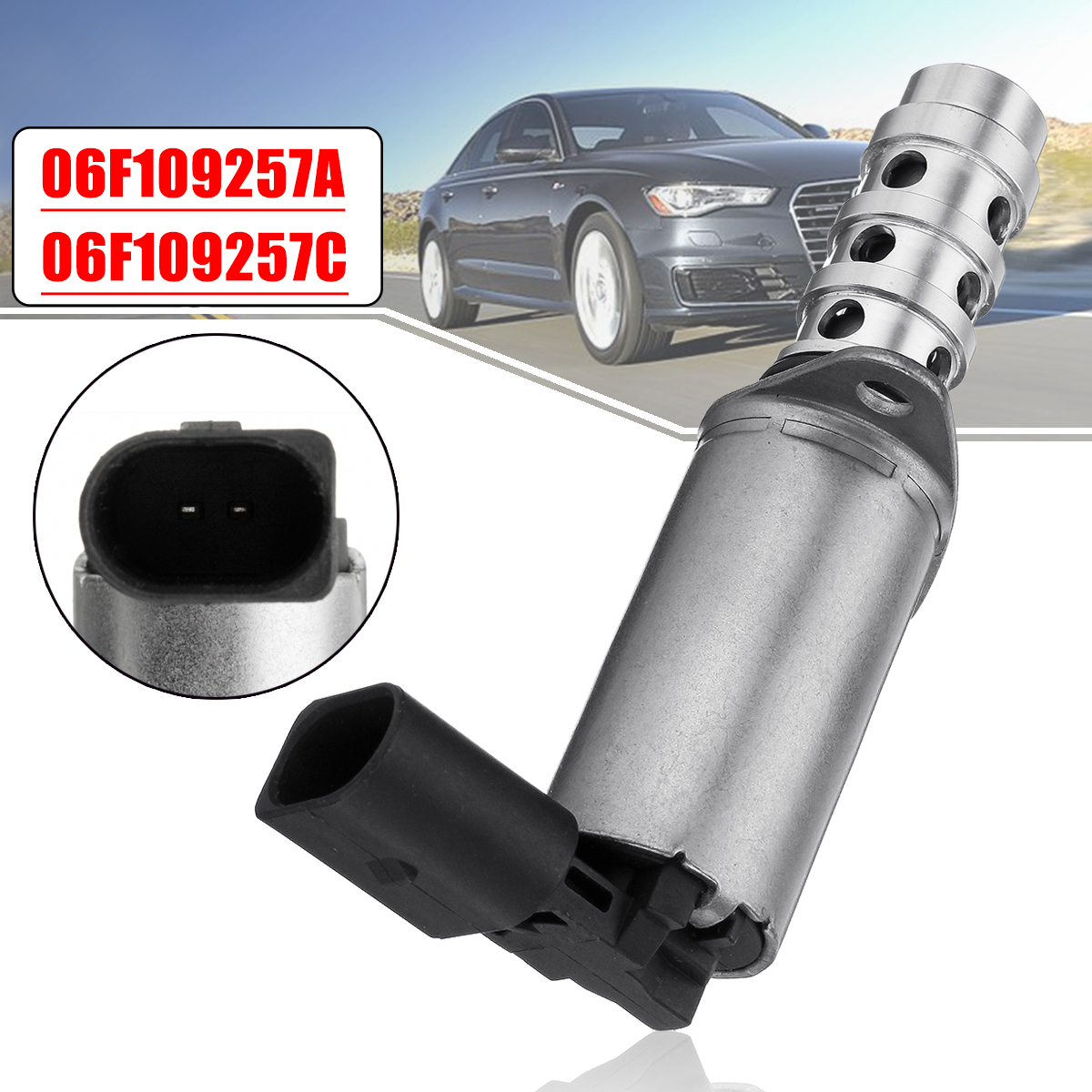 06F109257C 06F109257A Car VVT Variable Timing Solenoid Camshaft Oil Control Valve For Audi VW Seat for Skoda