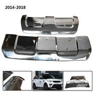 CITYCARAUTO стали MATEL спереди и сзади бампер, пригодный для Range Rover Sport внедорожник 2014 2018 деталей бамперы