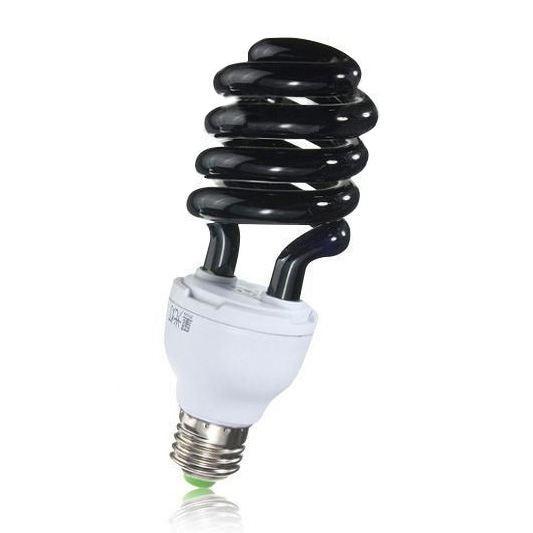 E27 40W UV Ultraviolet Fluorescent Blacklight CFL Light Bulb Lamp 220V Shape:Spiral Wattage Voltage:40W 220V