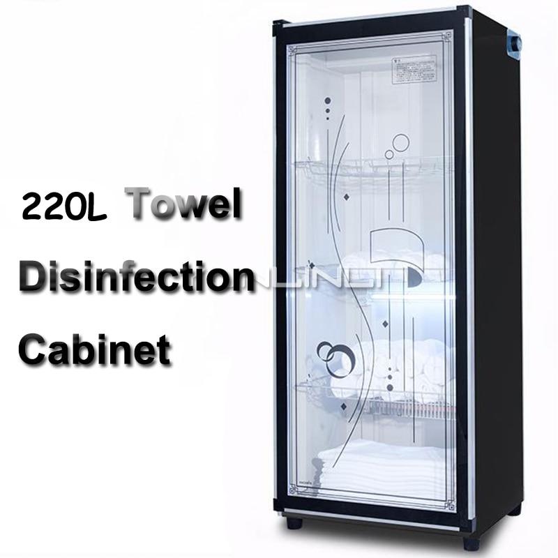 Vertical Disinfection Cabinet Beauty Salon/Hair Salon Towel Disinfection Cabinet Large Capacity Commercial Sterilizer|Clothes Dryers| |  -